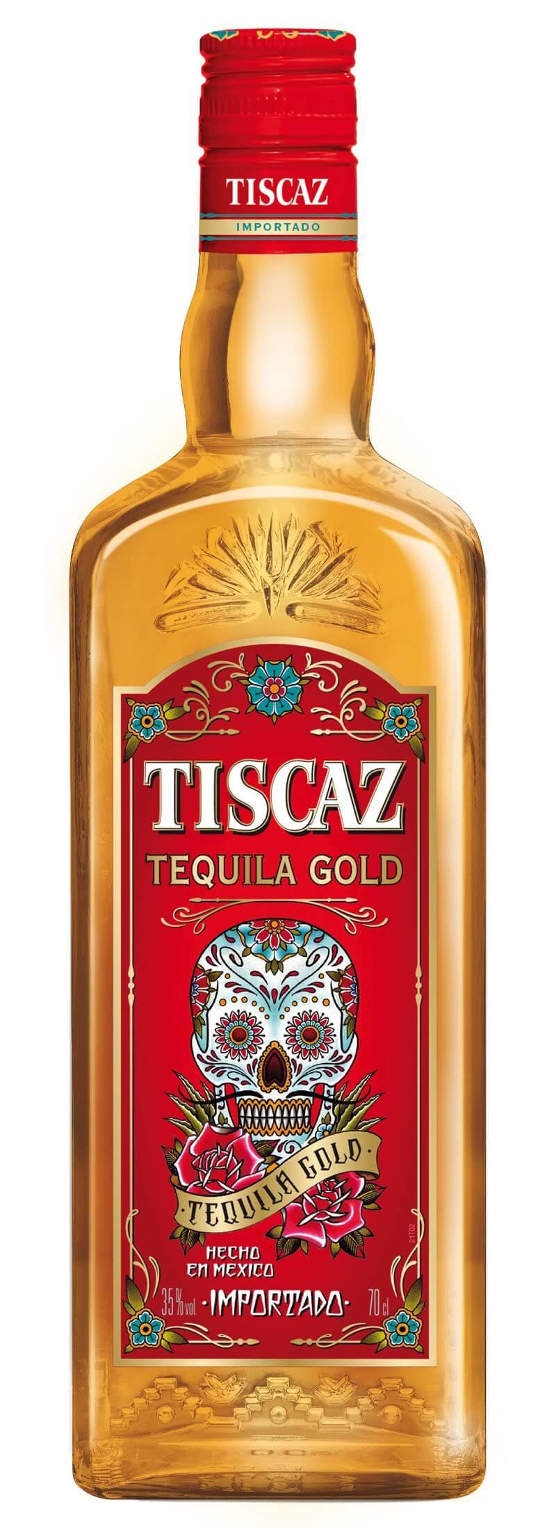Tiscaz Tequila Gold 35% 0,7l