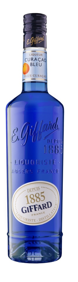 GIFFARD Curacao blue likér 25% 0,7l