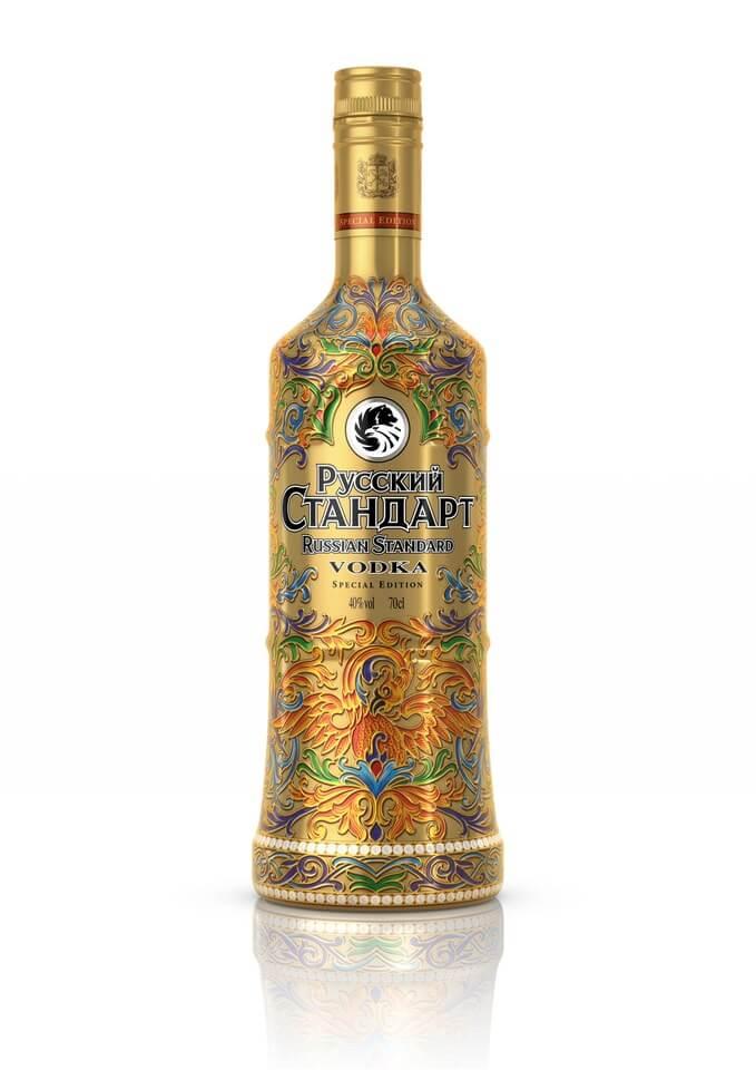 Russian Standard sleeve Lyubavin edition 40% 0,7l