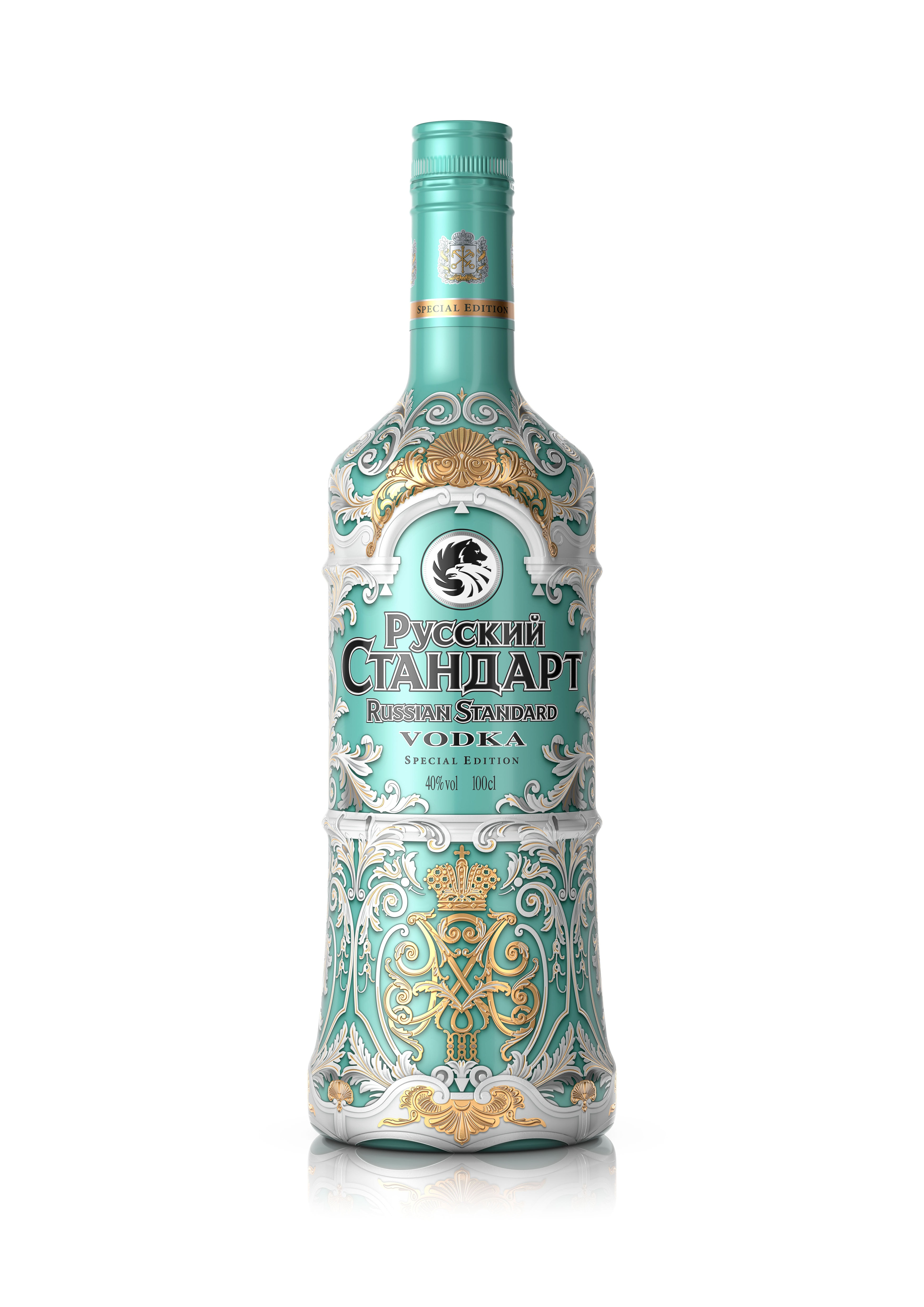 Russian Standard sleeve Hermitage edition 40% 0,7l