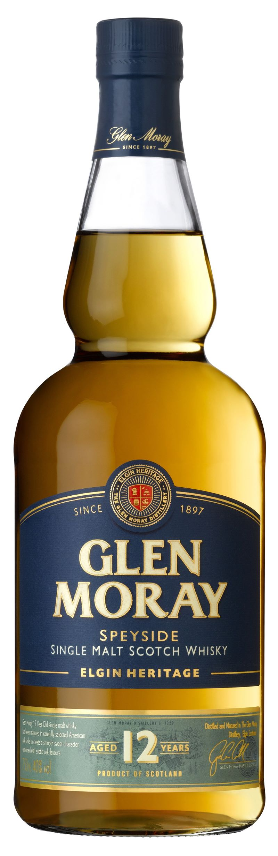 GLEN MORAY Heritage 12 YO Scotch Whisky 40% 0,7l