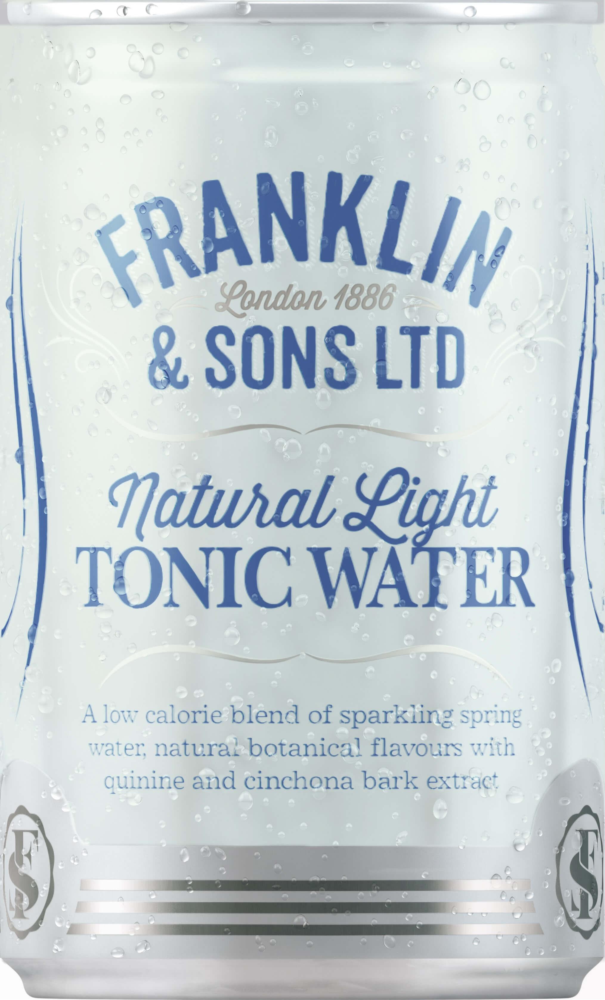 Franklin&Sons Light Tonic, plech