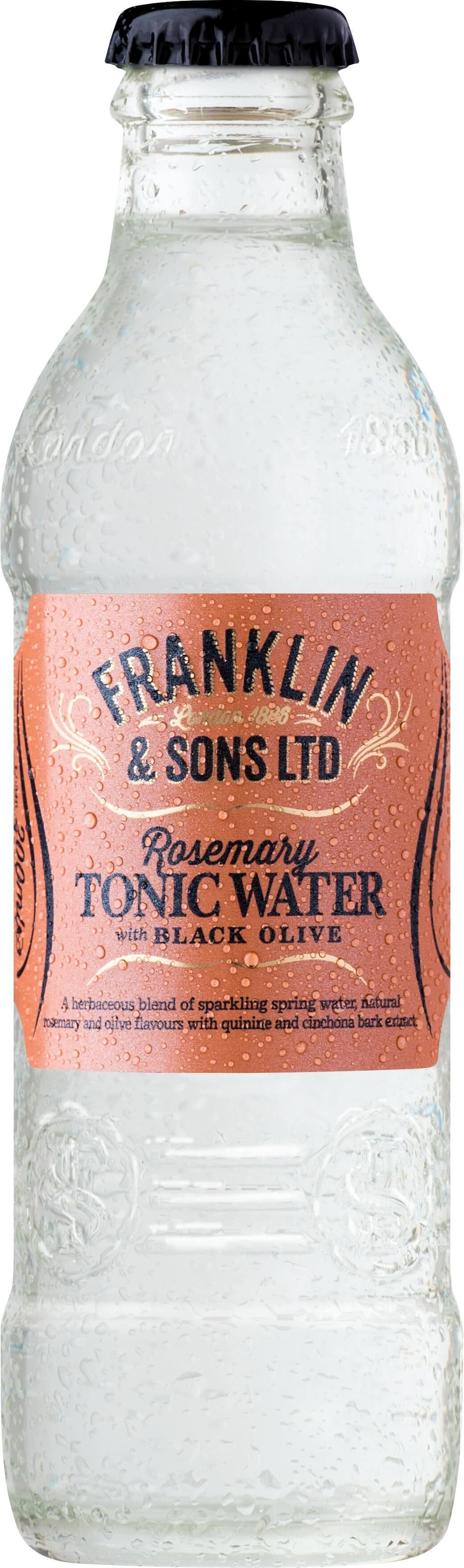 Franklin&Sons Rozmarínový tonik s čier. olivami