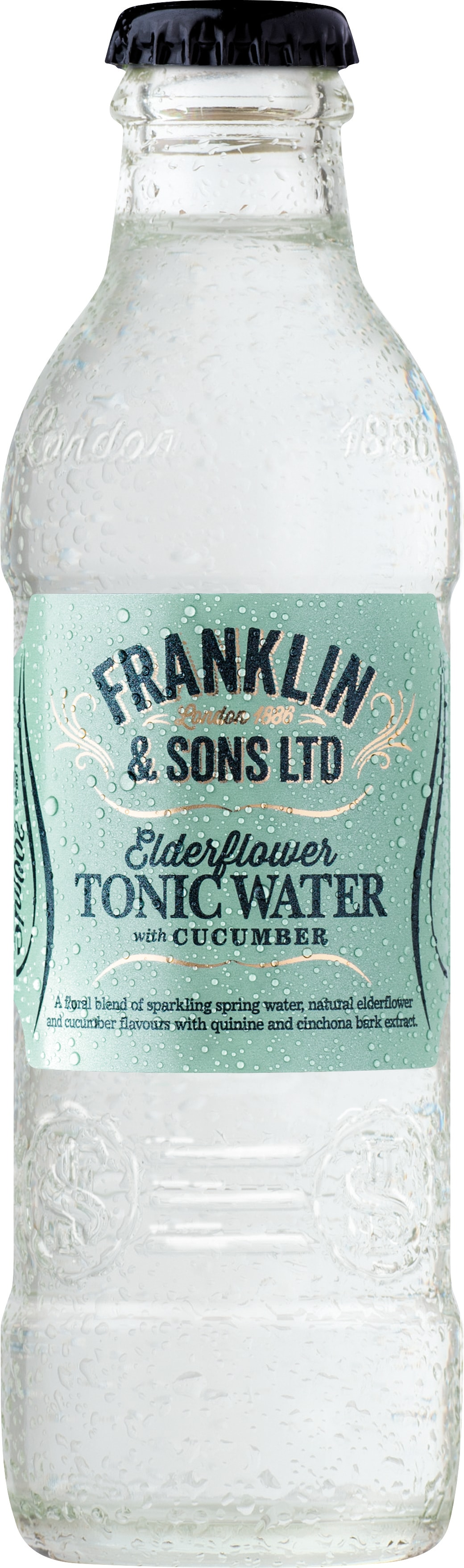 Franklin&Sons Bazový tonik s uhorkou