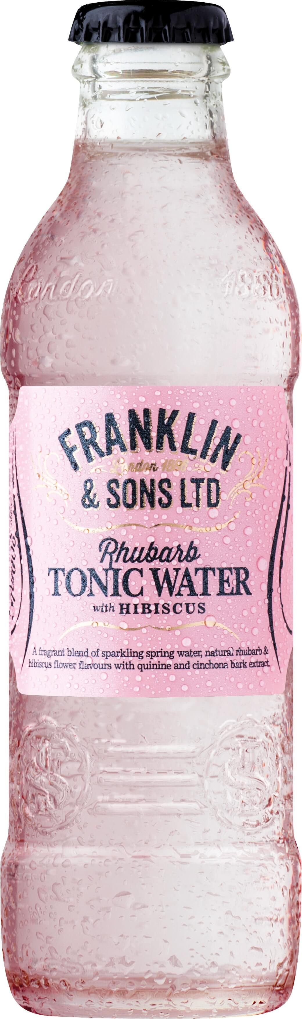 Franklin&Sons Rebarbovový tonik s ibištekom