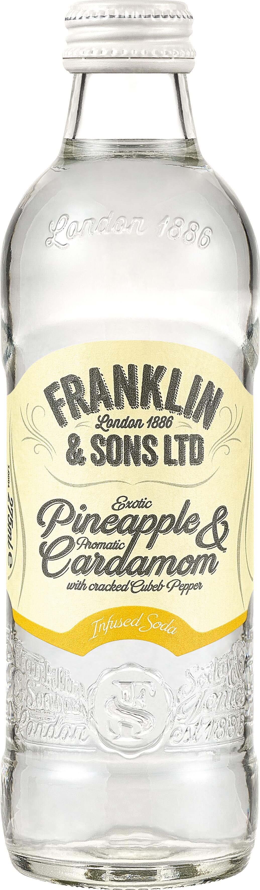 Franklin&Sons Ananás, kardamóm a kubéba