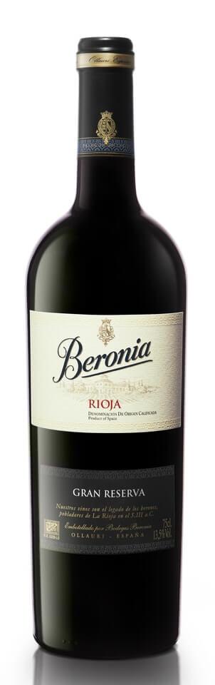 Beronia Gran Reserva červené víno, ESP