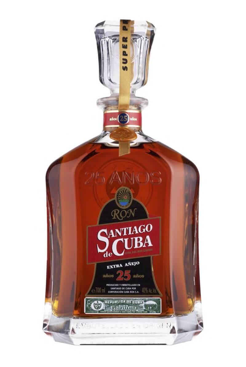 Santiago de Cuba Extra Aňejo 25 40% 0,7l