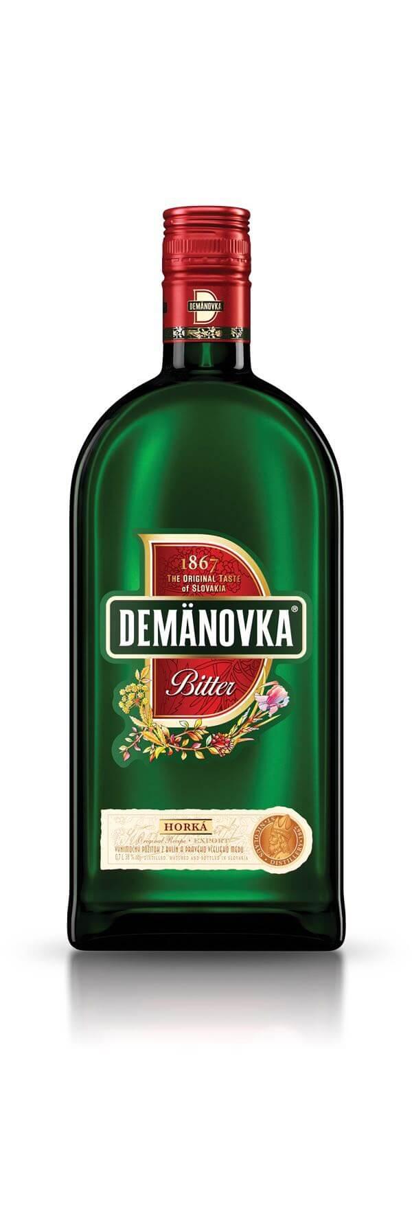 Demänovka Bitter Horká 38% 0,7l