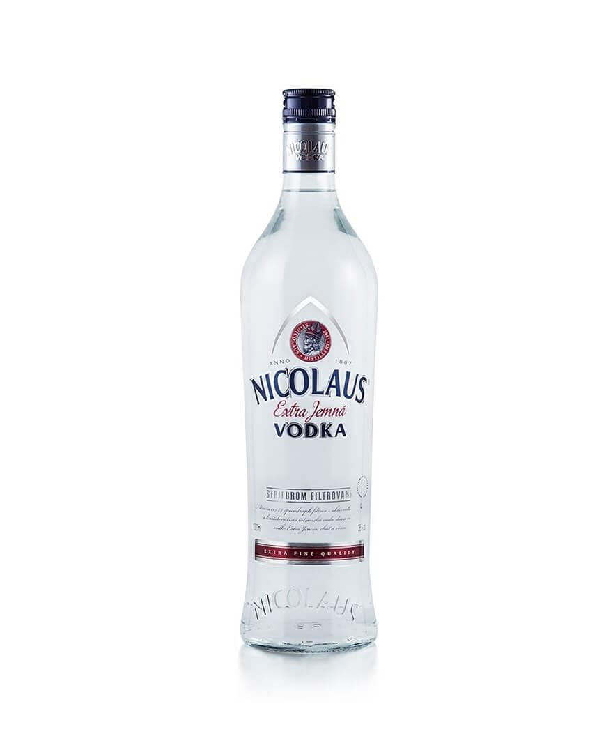 Nicolaus Vodka Extra Jemná 38% 1l