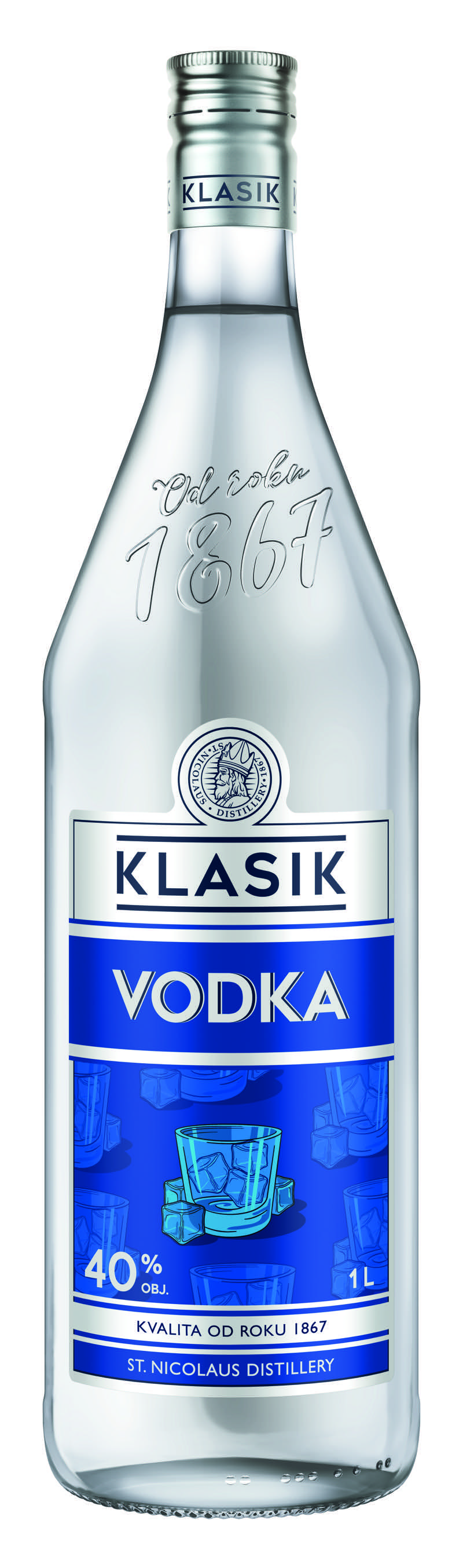 KLASIK Vodka 40% 1l
