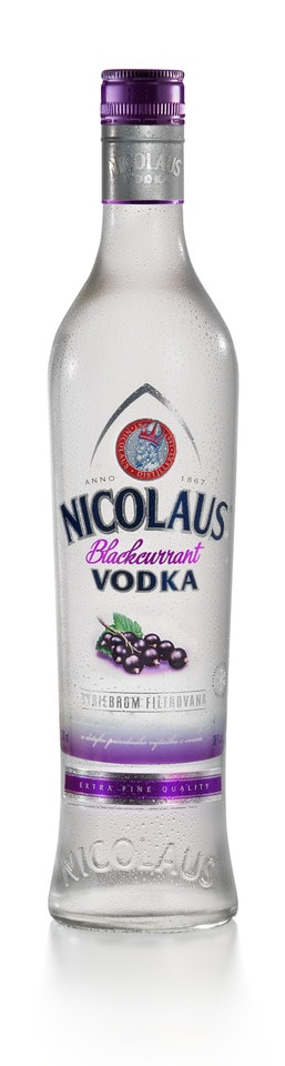 Nicolaus Blackcurrant Vodka 38% 0,7l