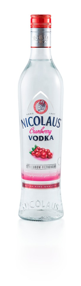 Nicolaus Cranberry Vodka 38% 0,7l