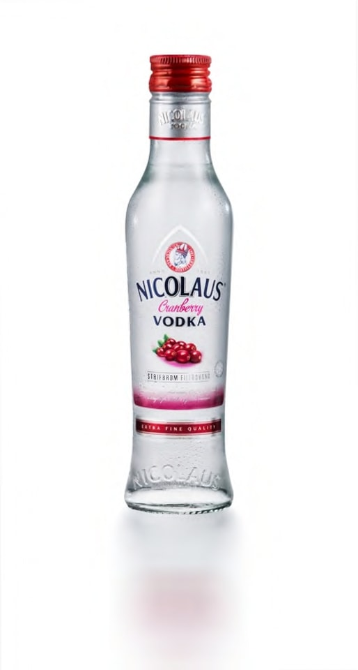Nicolaus Cranberry Vodka 38% 0,2l