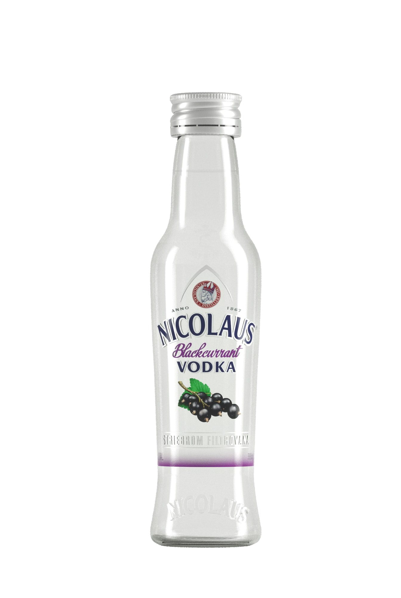 Nicolaus Blackcurrant Vodka 38% 0,04l
