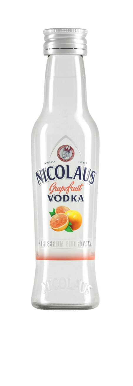 Nicolaus Grapefruit Vodka 38% 0,04l