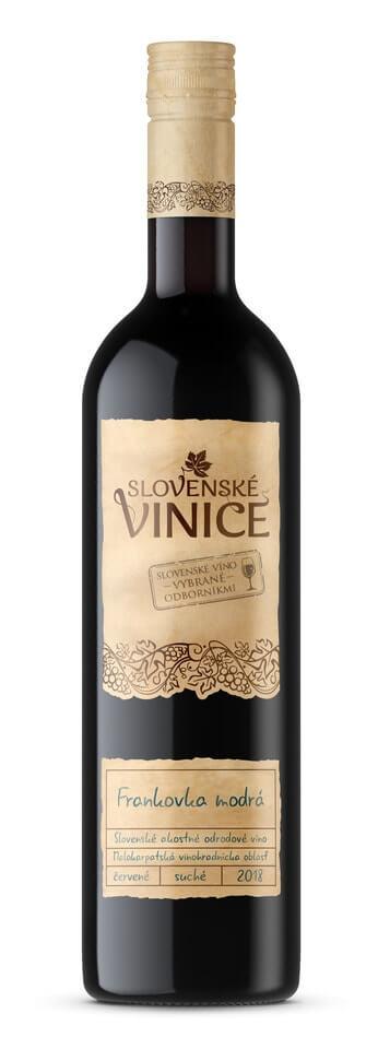 Slovenské Vinice Frankovka modrá 2018 0,75 l