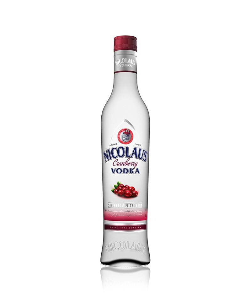 Nicolaus Cranberry Vodka 38% 0,5l