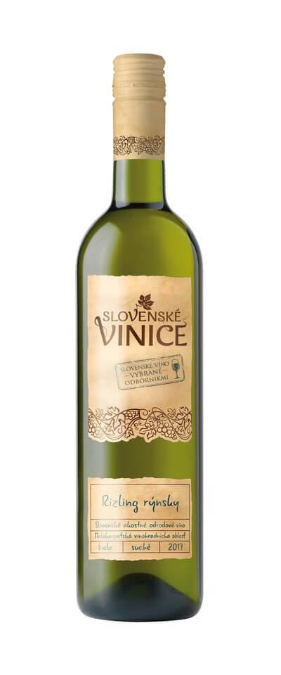 Slovenské Vinice Rizling rýnsky 2017 0,75 l