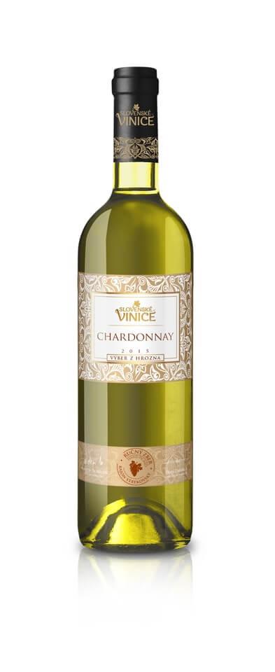 Slovenské Vinice Chardonnay VzH 2015  0,75 l