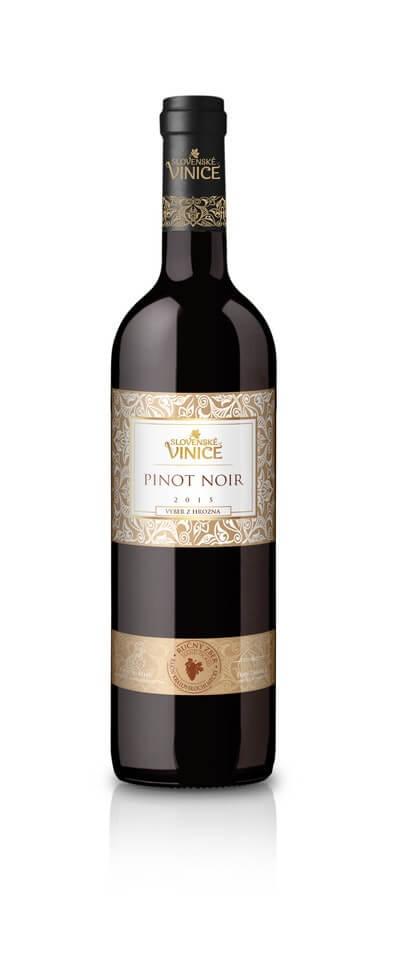 Slovenské Vinice Pinot Noir VzH 2015 0,75 l