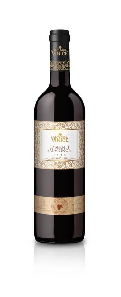 Slovenské Vinice Cabernet Sauvignon NZ 2016 0,75 l
