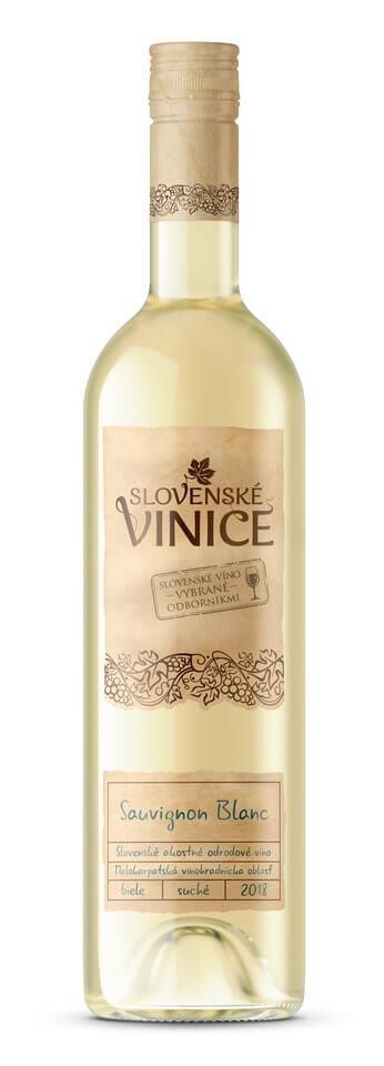 Slovenské Vinice Sauvignon Blanc 2018 0,75 l