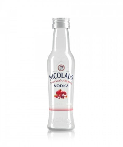 Nicolaus Pomegranate & Raspberry Vodka 38% 0,04l
