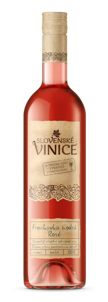 Slovenské Vinice Frankovka modrá Rosé 2018 0,75 l