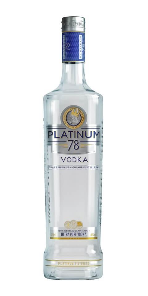 PLATINUM 78 Vodka 40% 0,7l