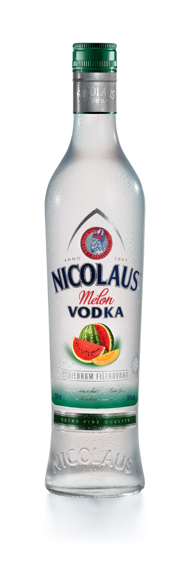 Nicolaus Melon Vodka 38% 0,7l