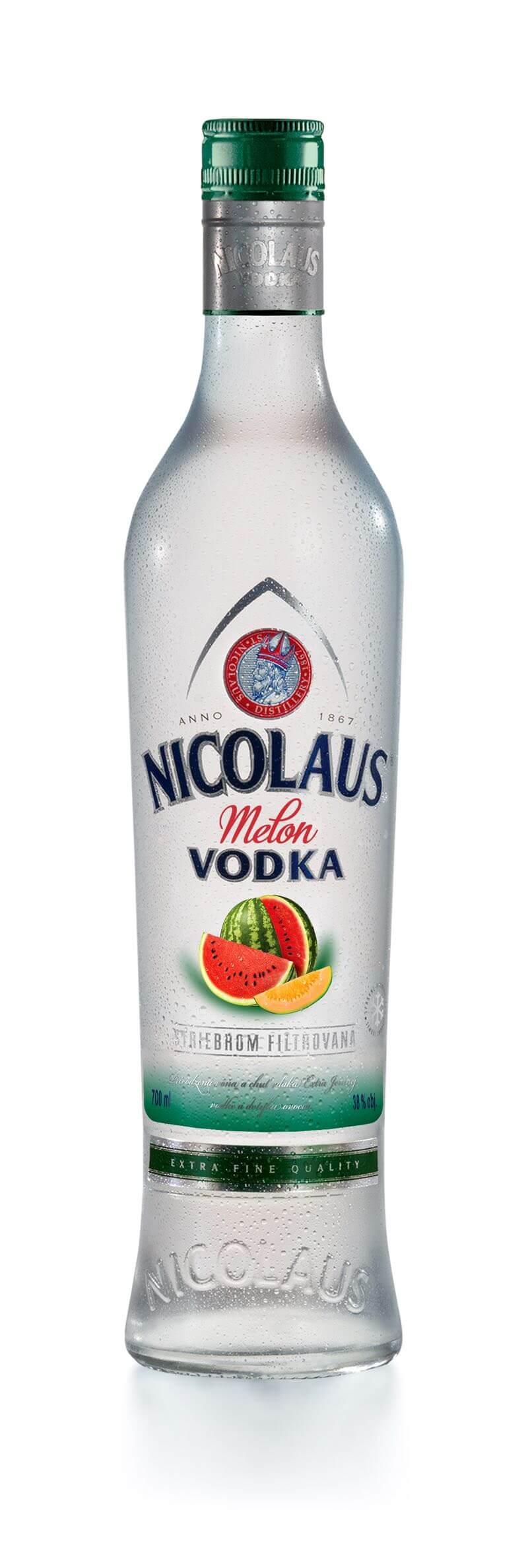 Nicolaus Melon Vodka 38% 0,7l