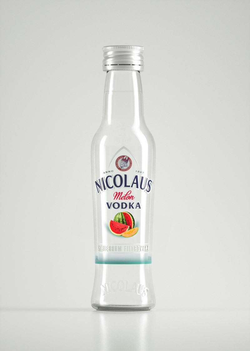 Nicolaus Melon Vodka 38% 0,04l