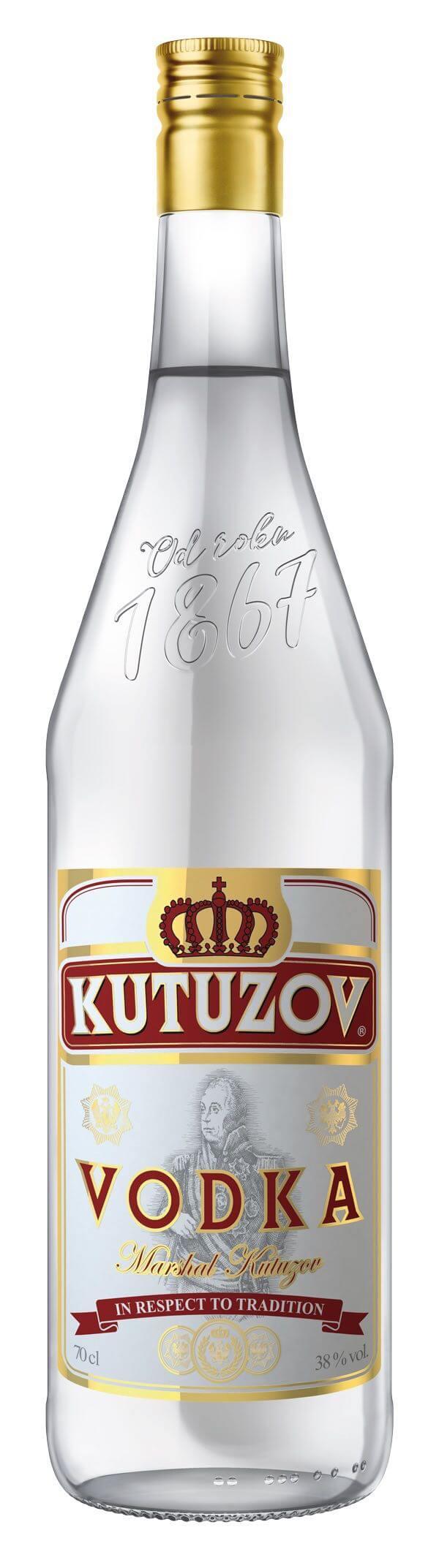 Kutuzov Vodka 38% 0,7l