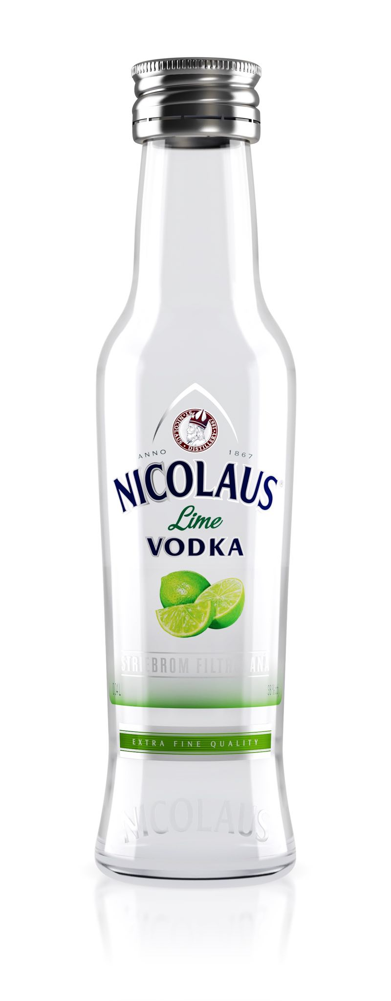 Nicolaus Lime Vodka 38% 0,04l