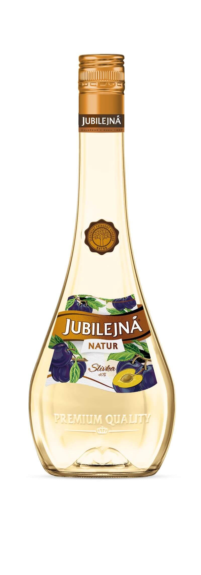 Jubilejná Natur Slivka 40% 0,7l