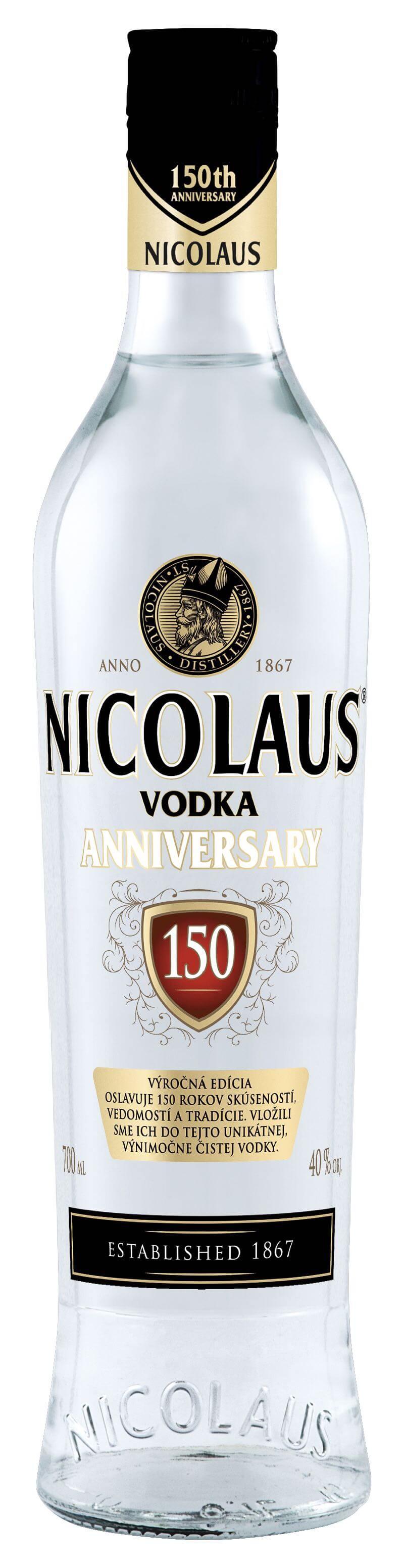 Nicolaus Anniversary Vodka 40% 0,7l
