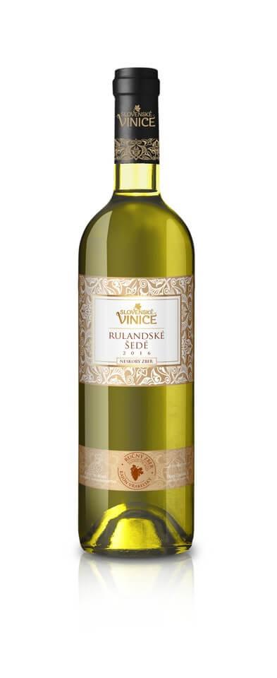 Slovenské Vinice Rulandské šedé NZ 2016 0,75 l