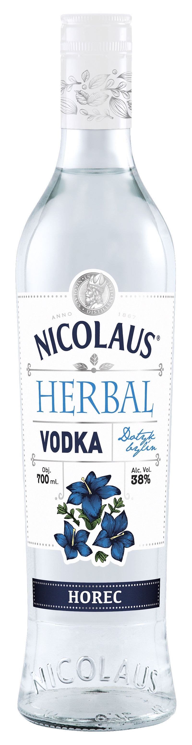 Nicolaus Herbal Vodka Horec 38% 0,7l