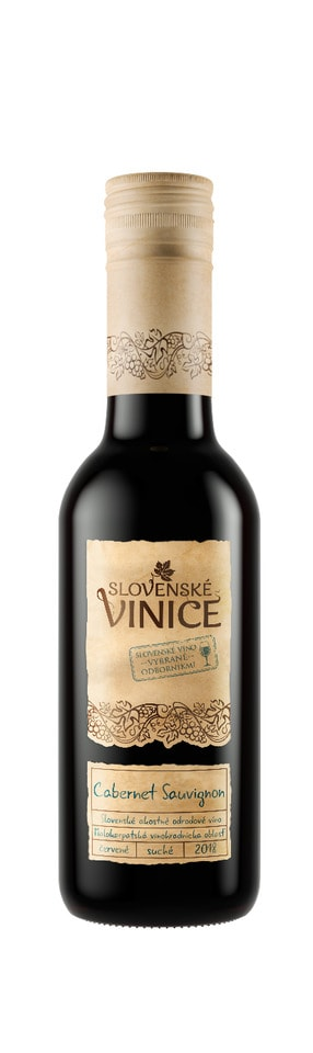 Slovenské Vinice Cabernet Sauvignon 2017 0,25 l