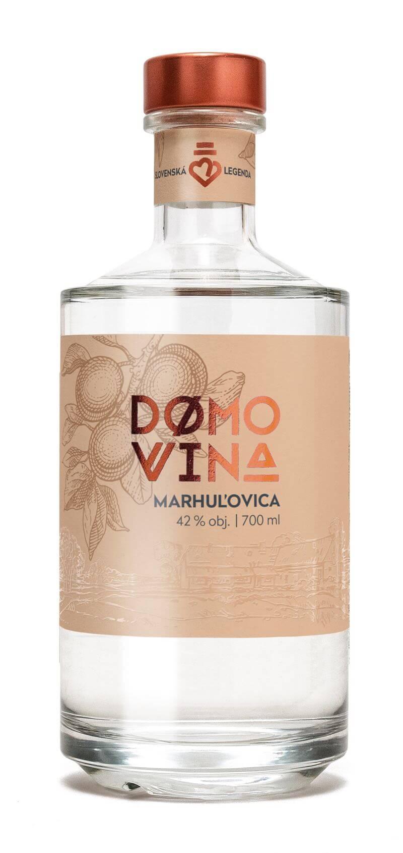 DOMOVINA Marhuľovica 42% 0,7l