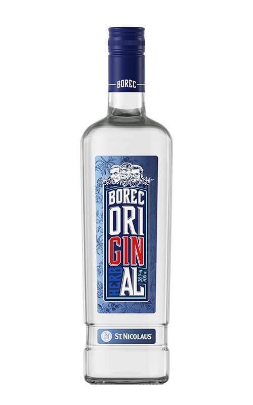 Gin BOREC 38% 0,7 l