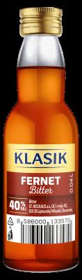 KLASIK Fernet Bitter 40% 0,04l