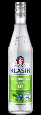 KLASIK Borovička inovecká 38% 0,5l