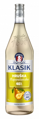KLASIK Kopaničiarska Hruška 40% 1l