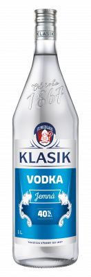 KLASIK Vodka Jemná 40% 1l