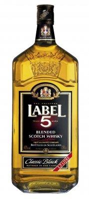 Label 5 Scotch Whisky 40% 1,5l