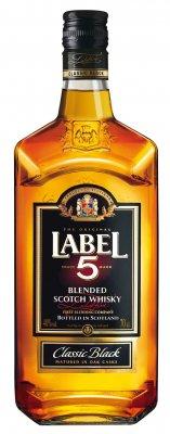 Label 5 Scotch Whisky 40% 0,7l