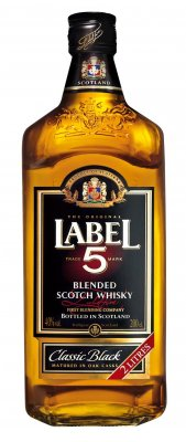 Label 5 Scotch Whisky 40% 2l