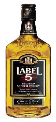 Label 5 Scotch Whisky 40% 0,35l